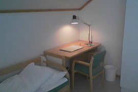 Ørndalen student housing interior
