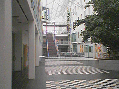 atrium, medicine building, University of Tromsø